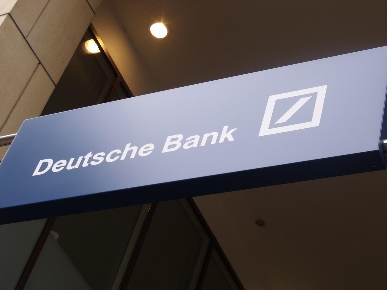 "Deutsche Bank ""시가 총액이 1 조 달러가 넘는 비트 코인을 무시할 수 없습니다"""